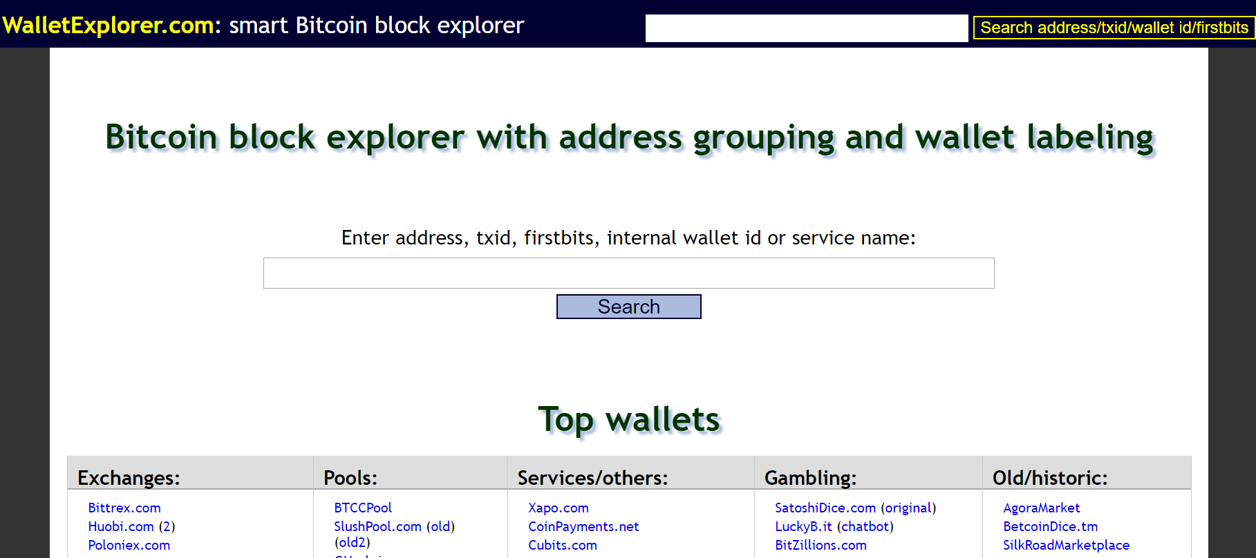WalletExplorer