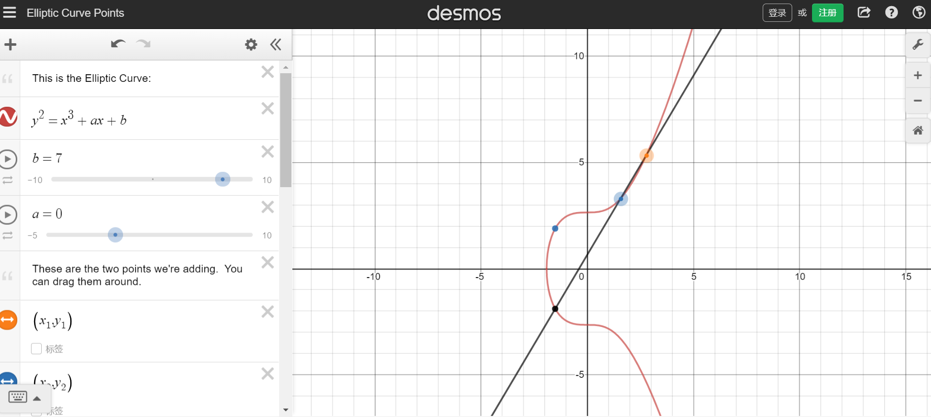 Desmos数学教学工具
