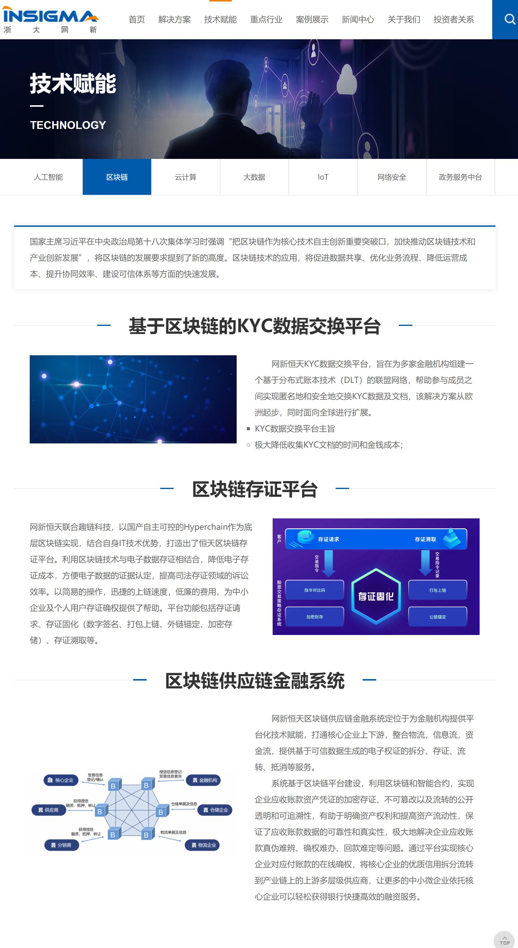 浙大网新区块链平台